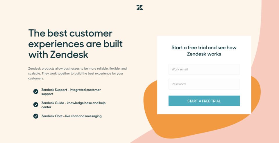 Ecommerce Landing Page Example Zendesk