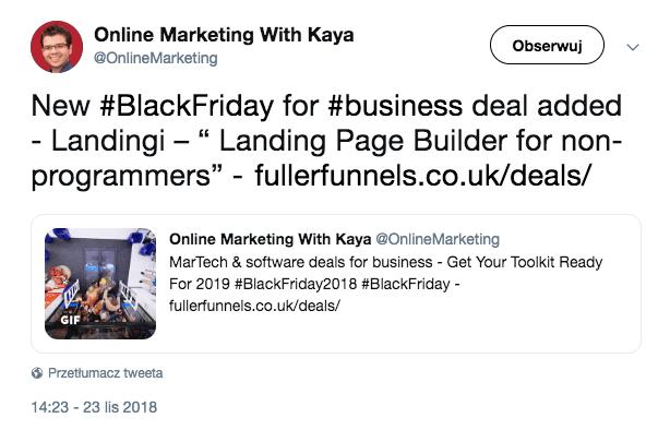 Online Marketing post