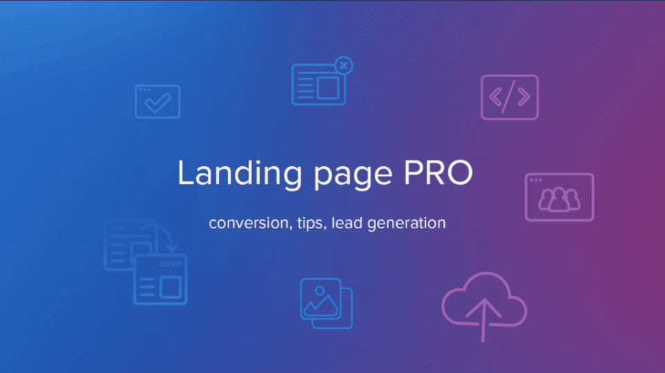 Landing Page PRO group
