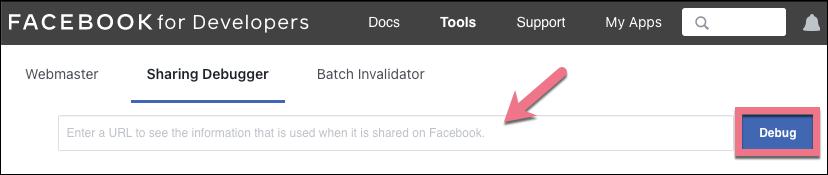 sharing debugger