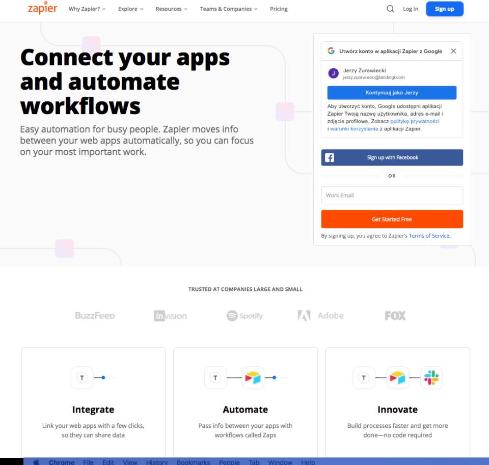 Integrate your platform with Zapier
