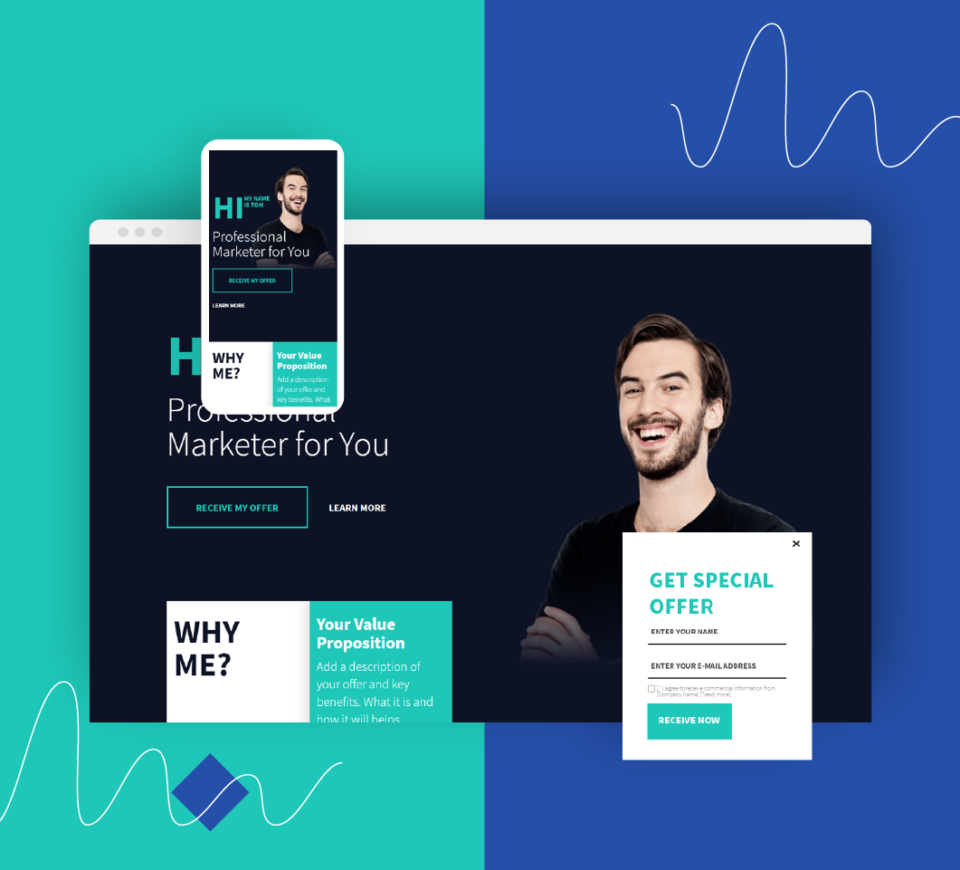Get creative with advertising landing pages