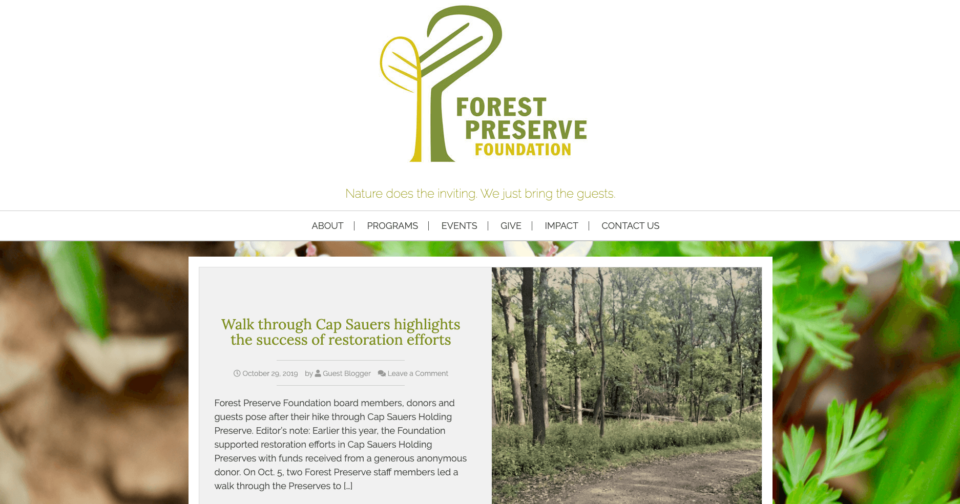 Forest Preserve Foundation
