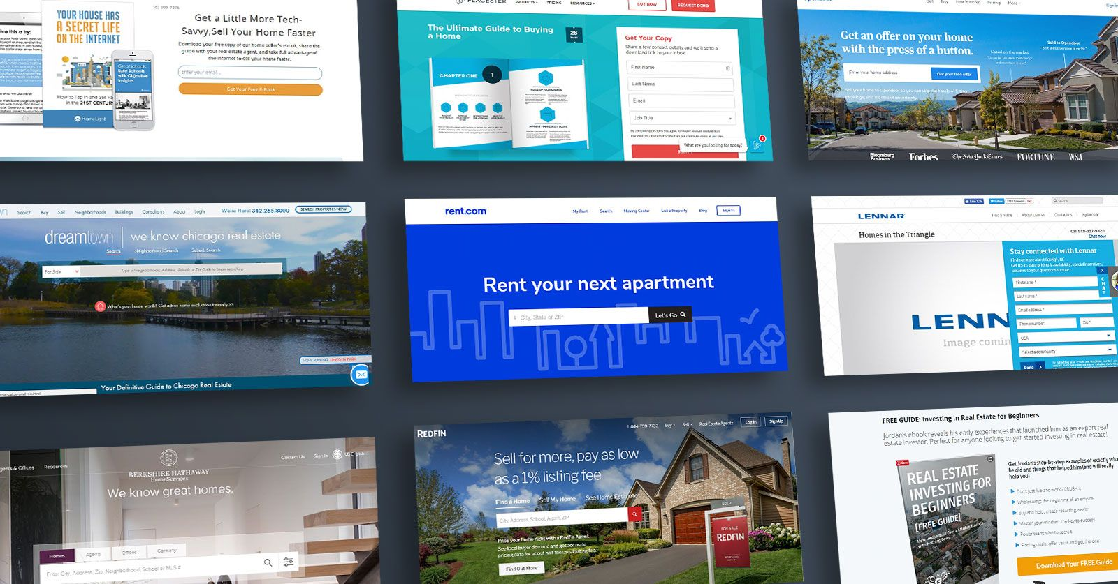 35 Real Estate Landing Page Examples And Ideas To Copy Landingi
