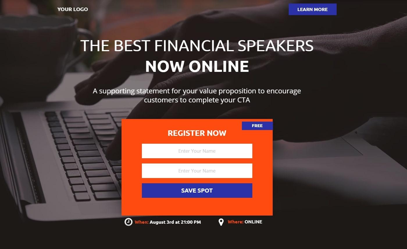 Financial webinar LP