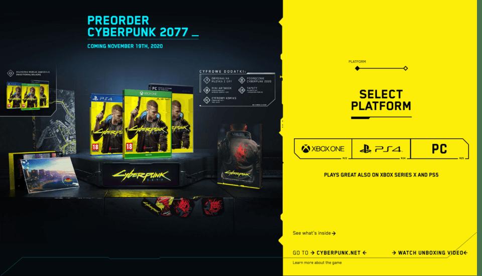 Cyber Punk 2077 LP