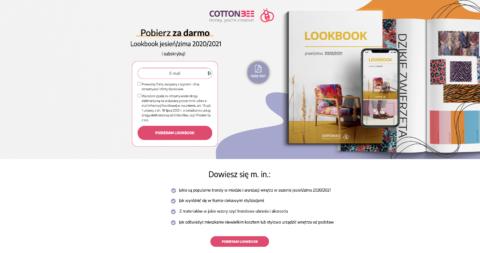 CottonBee landing page PL