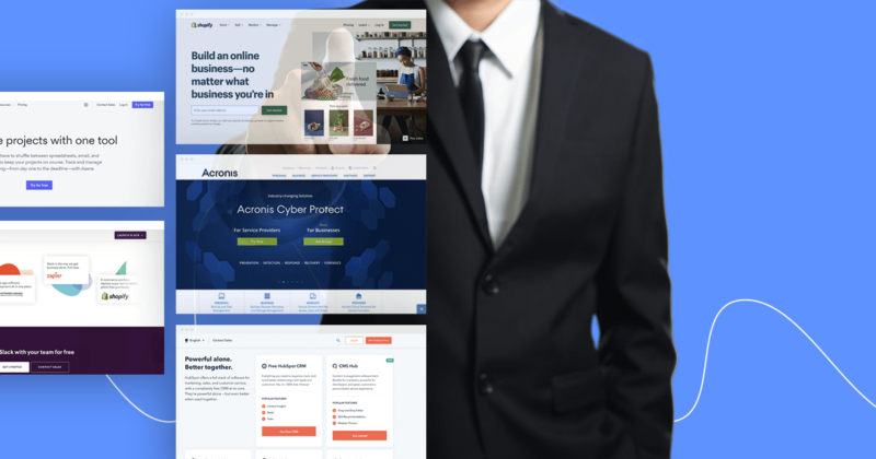 Best B2B landing page examples
