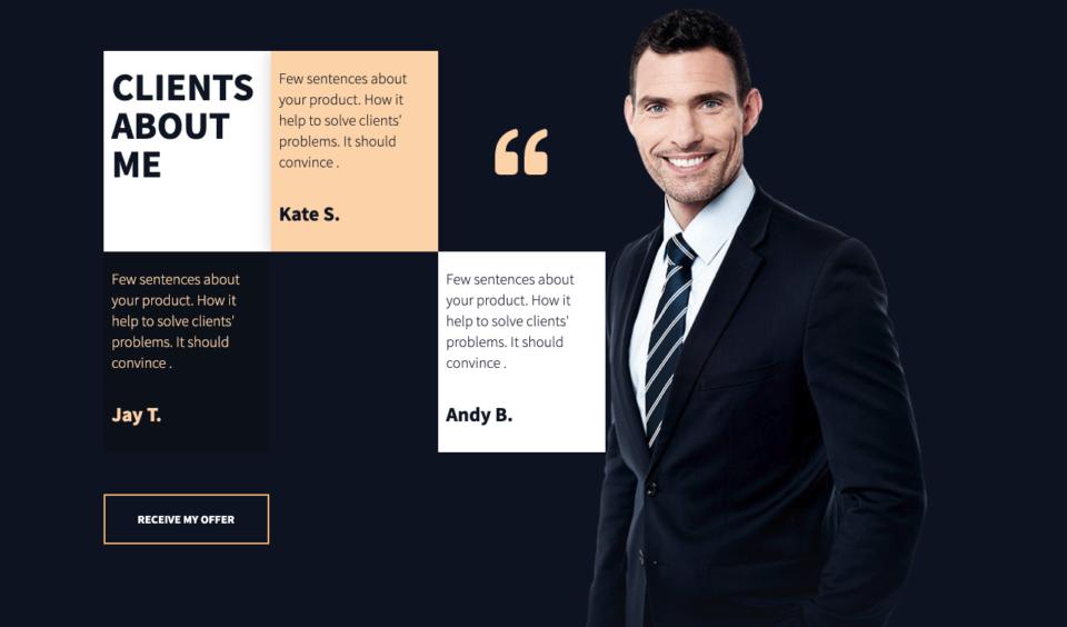 Company testimonials