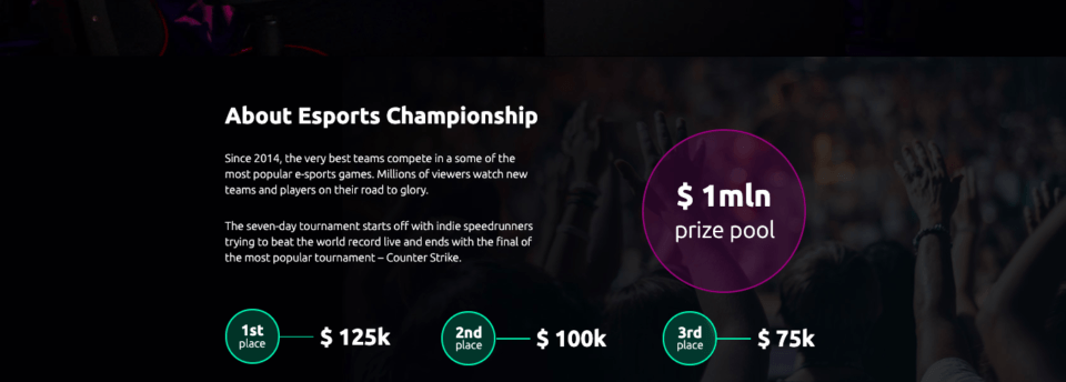 Sports event example 1
