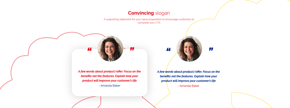 Product landing page 4