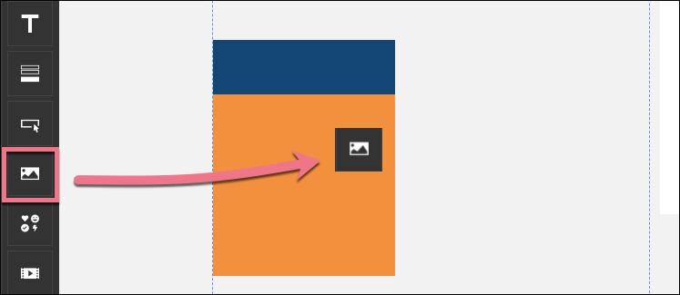 adding gifs in landingi editor