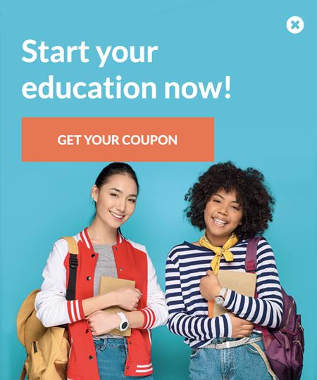 Szablon Education 3 webinar signup - popup