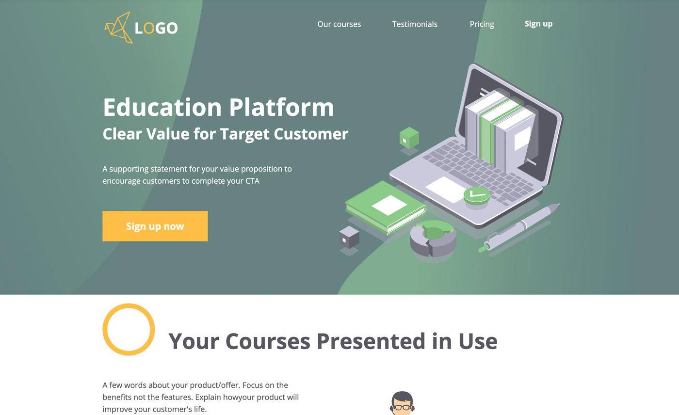 Education 4 webinar signup
