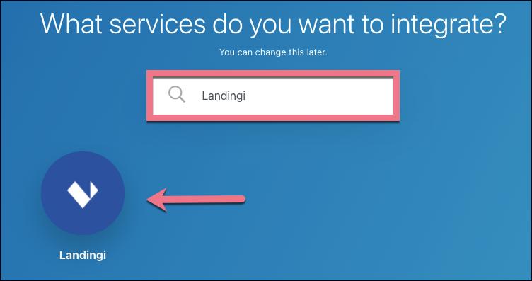 search landingi integromat
