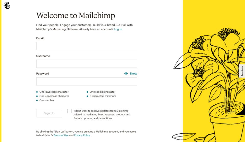 mailchimp jak używać
